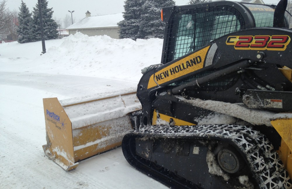 snow plow snow removal
